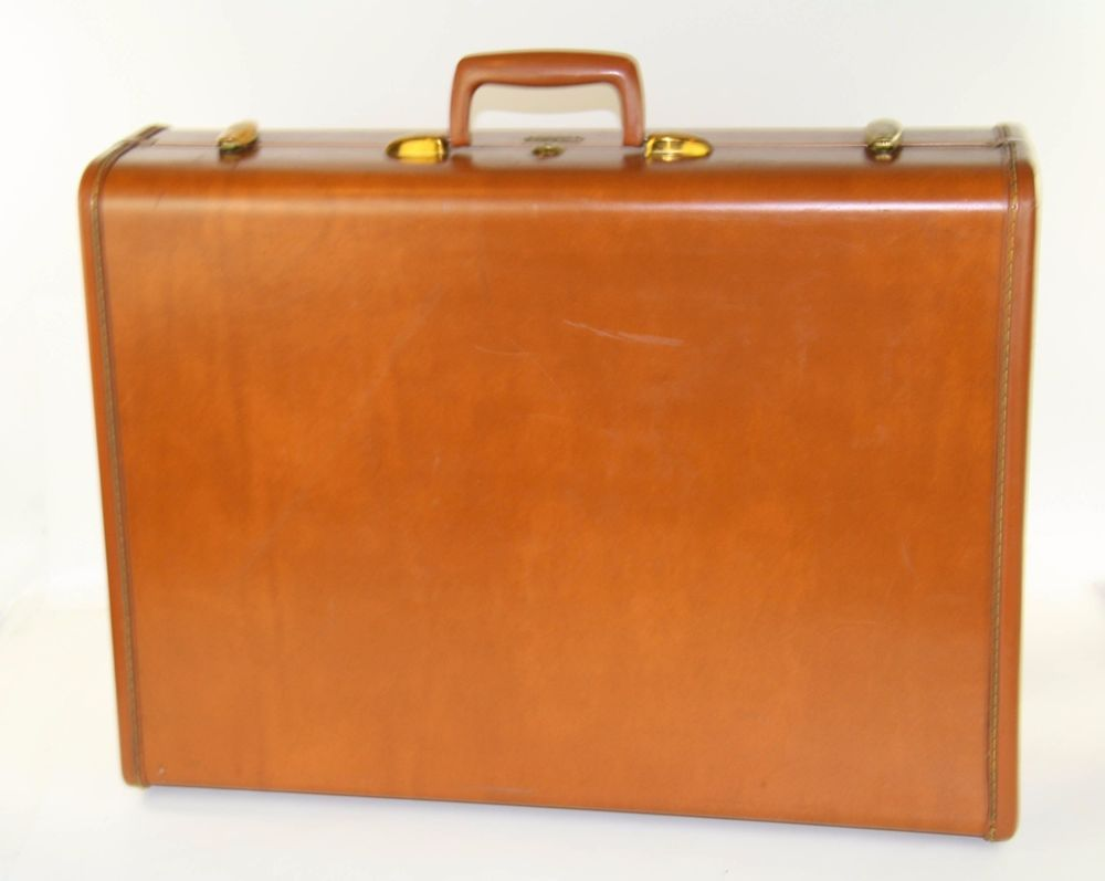 VINTAGE SAMSONITE LUGGAGE TWO SUITER SUITCASE SHWAYDER ...