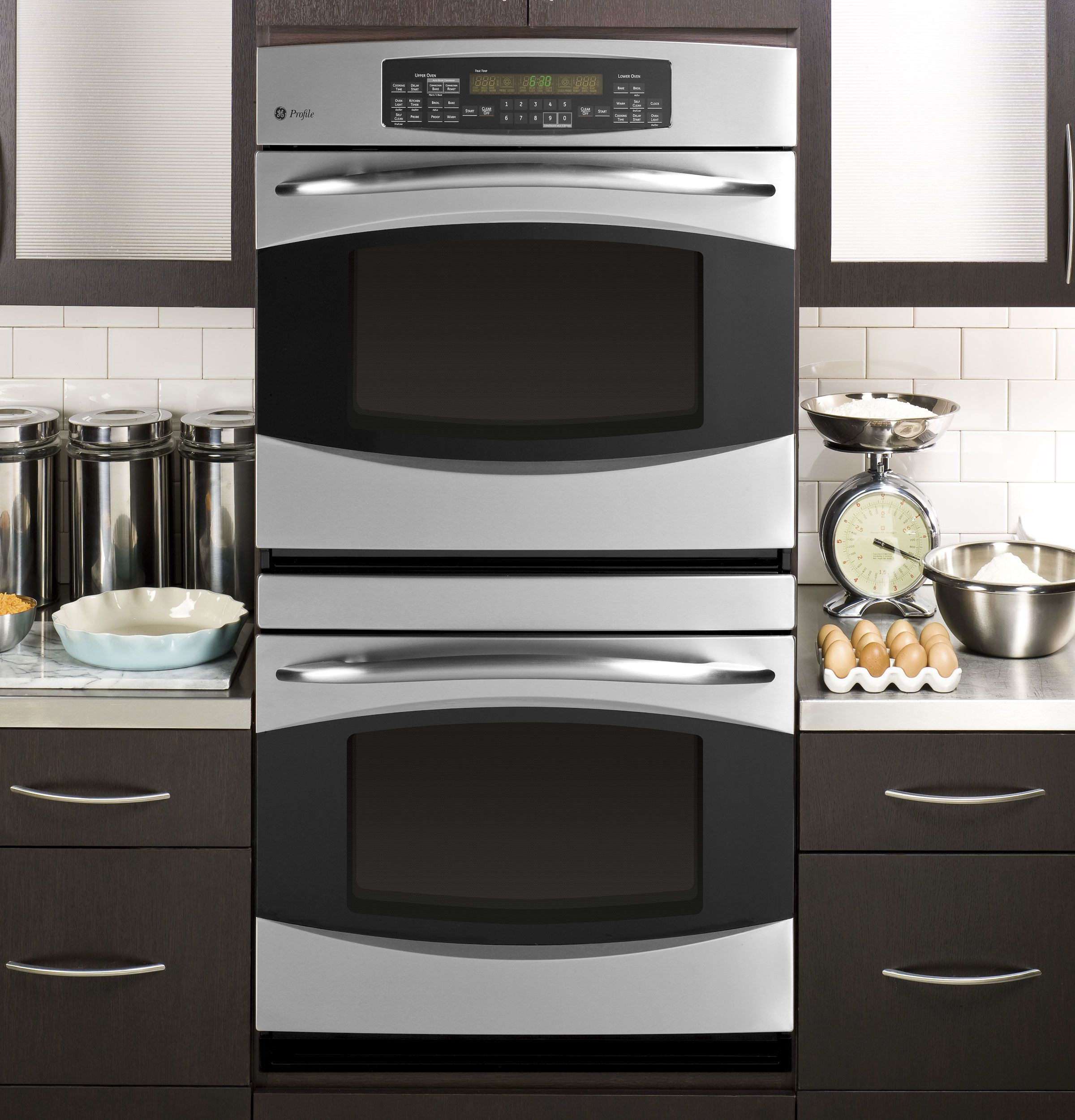Ge Profile 30 Built In Double Convection Thermal Wall Oven Pt956srss Wall Oven Double Wall Oven Best Double Wall Ovens