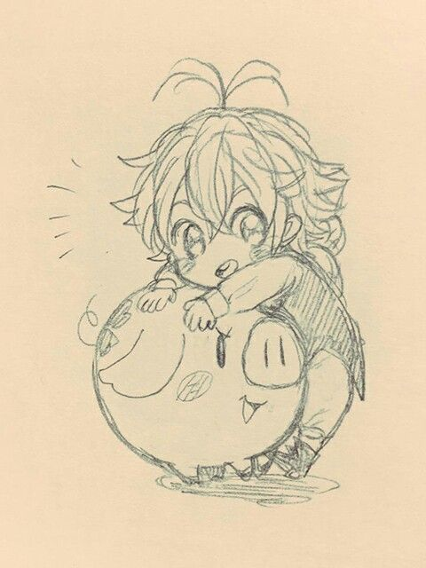 Photo of Meliodas and Hawk discovered by ☆Miss_Amouron☆