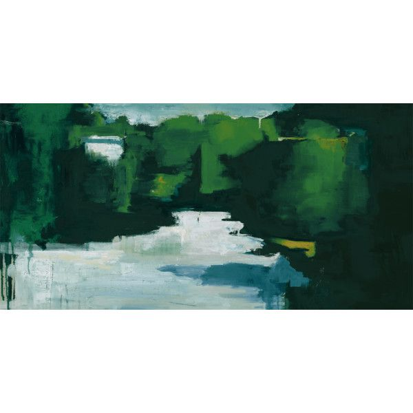 Chelsea Art Studio Emerald Landscape Canvas Giclee Wall Art (720 CAD ...