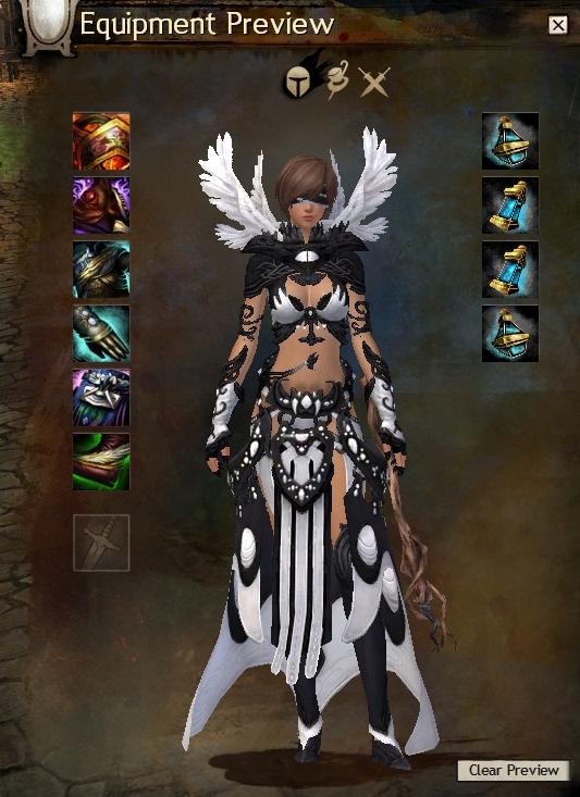 Guildwars2 Bladed Vestments Armor Gw2 Elementalist