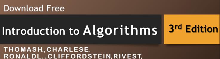 Introduction To Algorithms Cormen Ebook