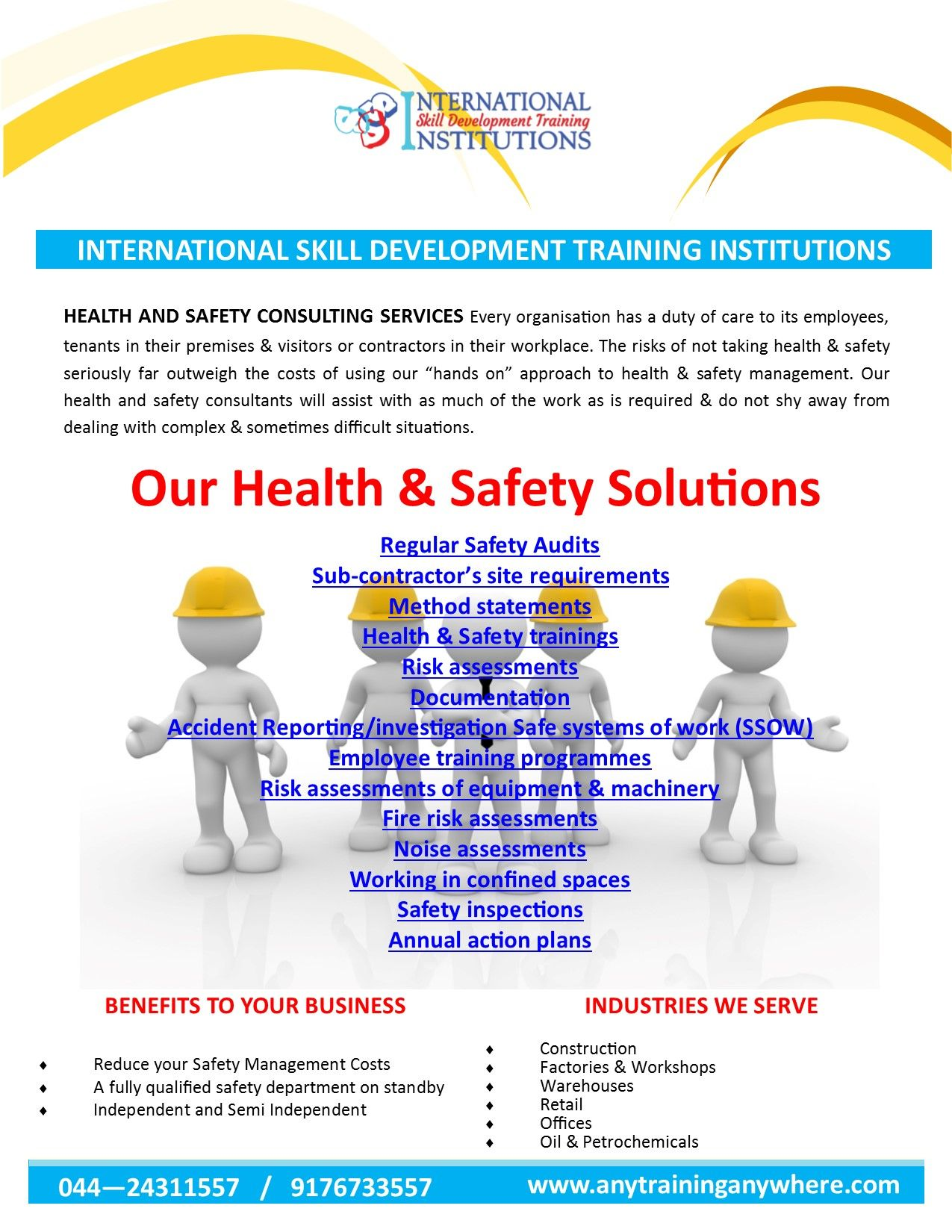 Pin on Corporate Safety Training, NEBOSH,IOSH,OSHA,NFPA,IIRSM