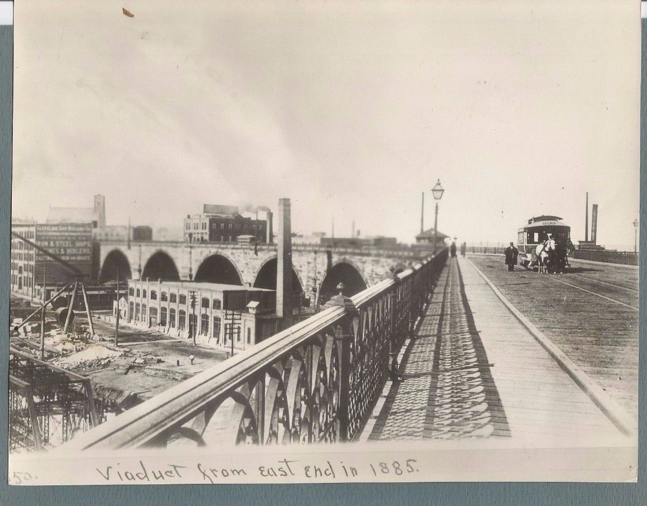 VIEW DRAW OF THE VIADUCT. CLEVELAND OH TROLLEY. There are hundreds, possibly thousands of Wire and Press photos, all identified and dated. They cover so many areas of interest, dating from the 1920's to 1950's.   eBay!