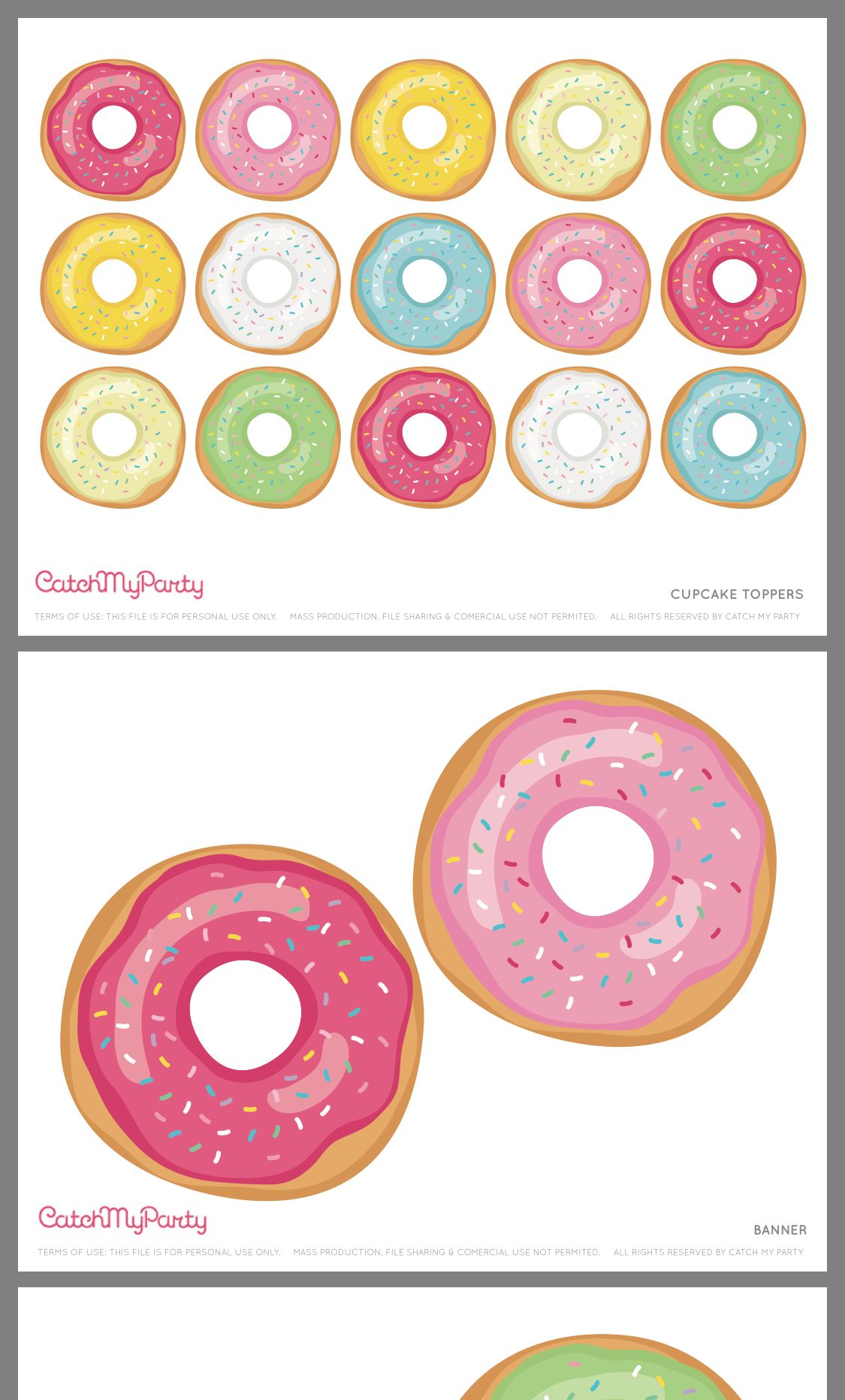 Pin By Magaly Gomero On Donut Party In