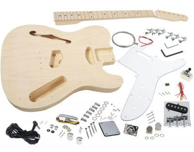 Solo Tele Thinline Style Tck 100 Do It Yourself Guitar Kit Guitar Kits Electric Guitar Kits Build Your Own Guitar