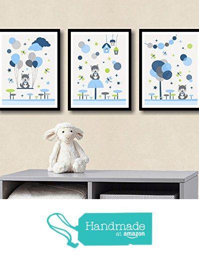Affiche enfant décoration chambre bébé garçon déco chambre enfant illustration murale chambre bébé loup animaux forêt