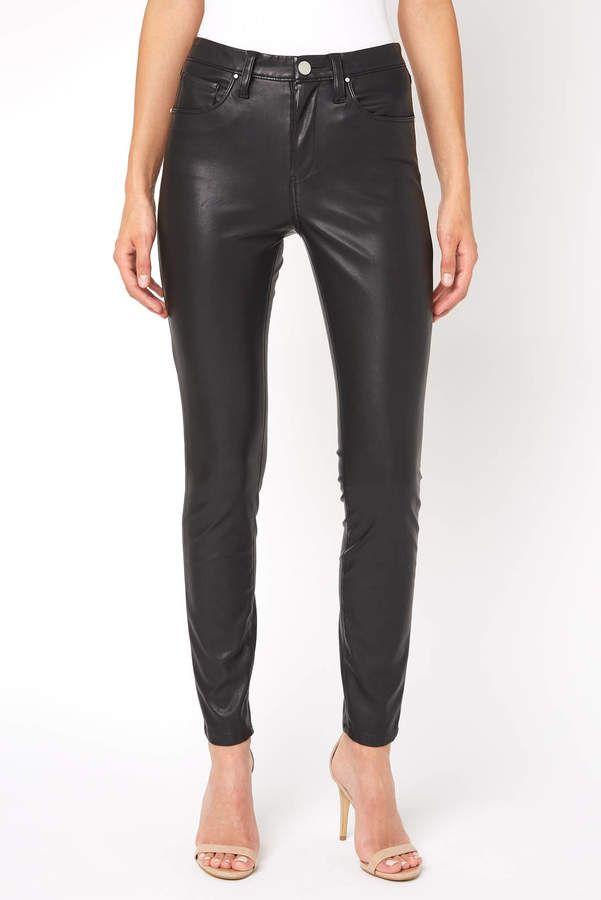 a97ebc79b71b7 Blank Nyc Blank NYC Vegan Leather Five Pocket Pant | Vegan Fashion ...