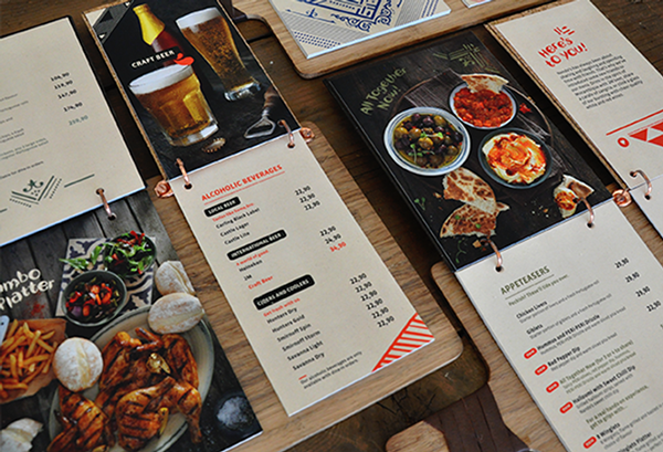 20+ Beautiful Restaurant, Cafe and Food Menu Designs for Inspiration ...