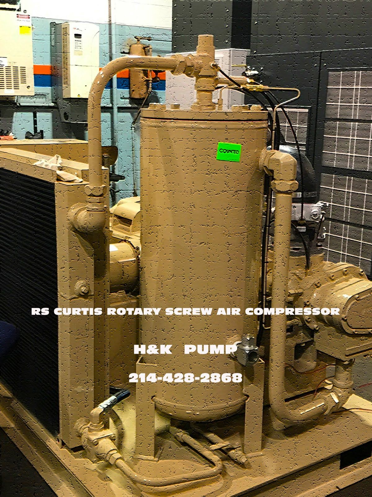 RS rotary screw compressor, air compressors, rotary screw
