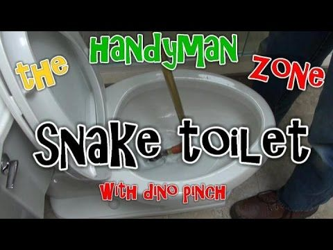 How To Snake A Toilet Clear A Toilet Clog So Easy