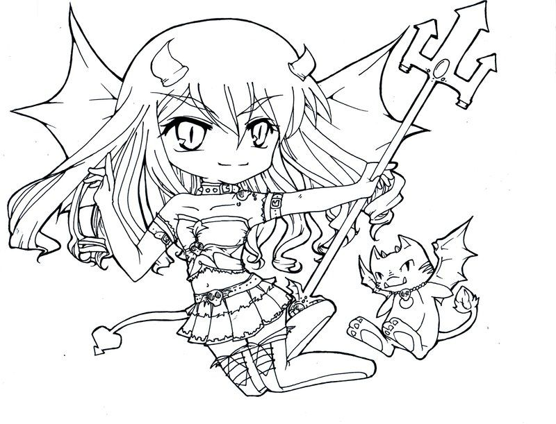 red devil coloring pages - photo#49
