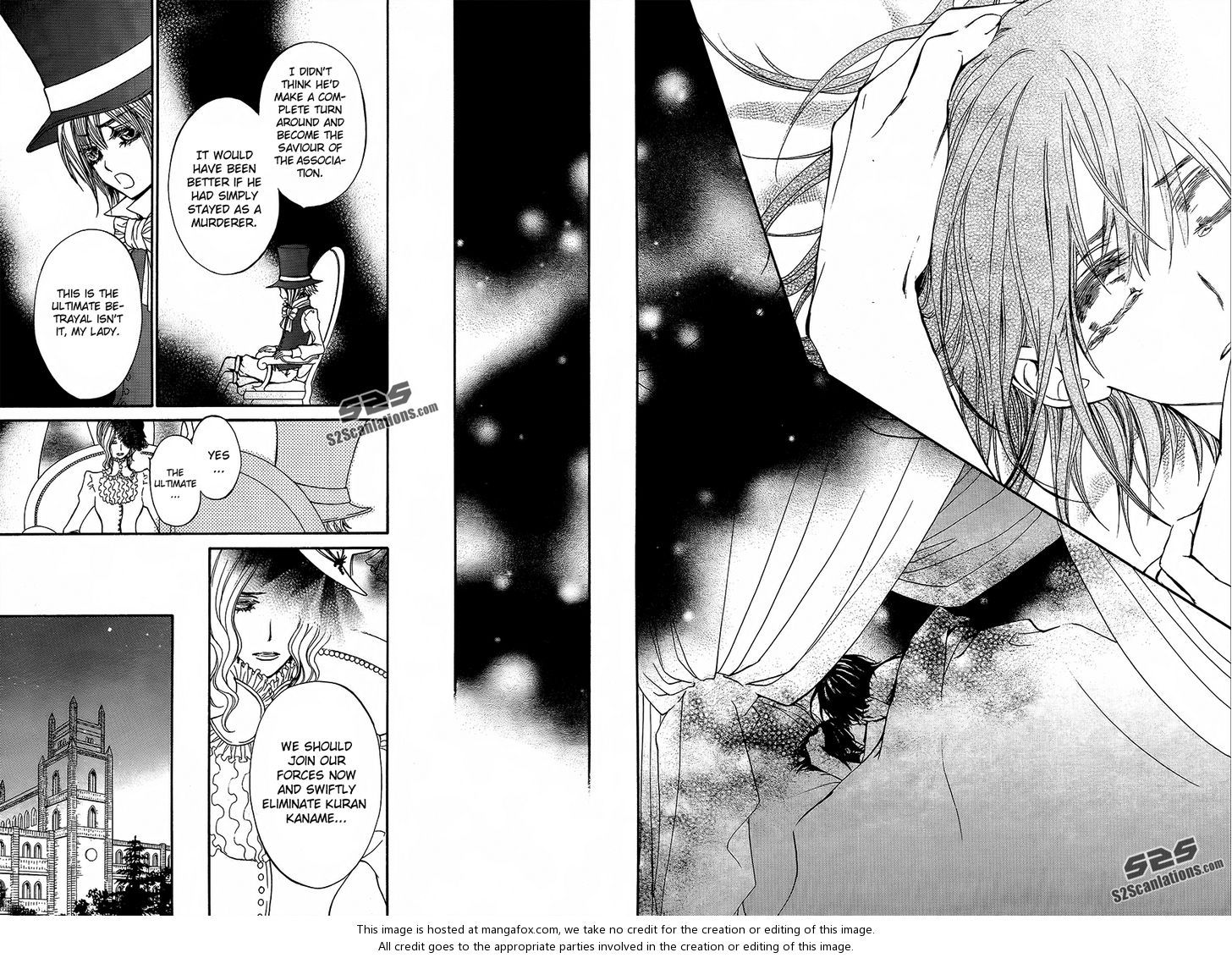 Vampire Knight 89 A Night To End Thousand Nights At MangaFoxme