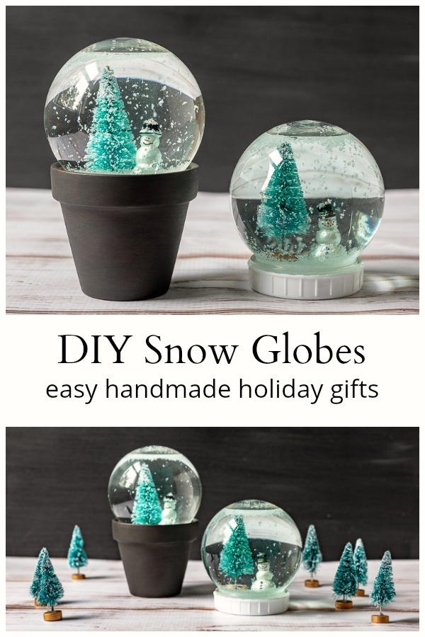 DIY Snow Globe A Fun and Easy Christmas Craft (With