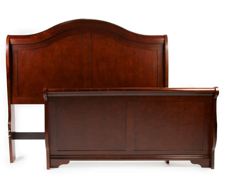Best Henry Sleigh Bed Queen Size Headboard And Footboard 400 x 300
