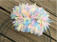Photo of Make A Plastic Tablecloth Wreath