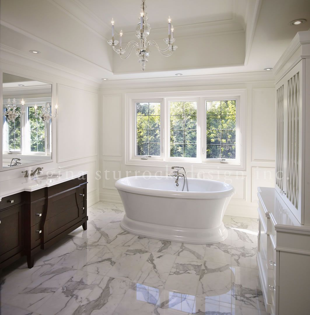 Bathrooms By Design Inc. Oakville Interior Design Project Beyond The Blueprint Regina Sturrock Design Inc Bathroom