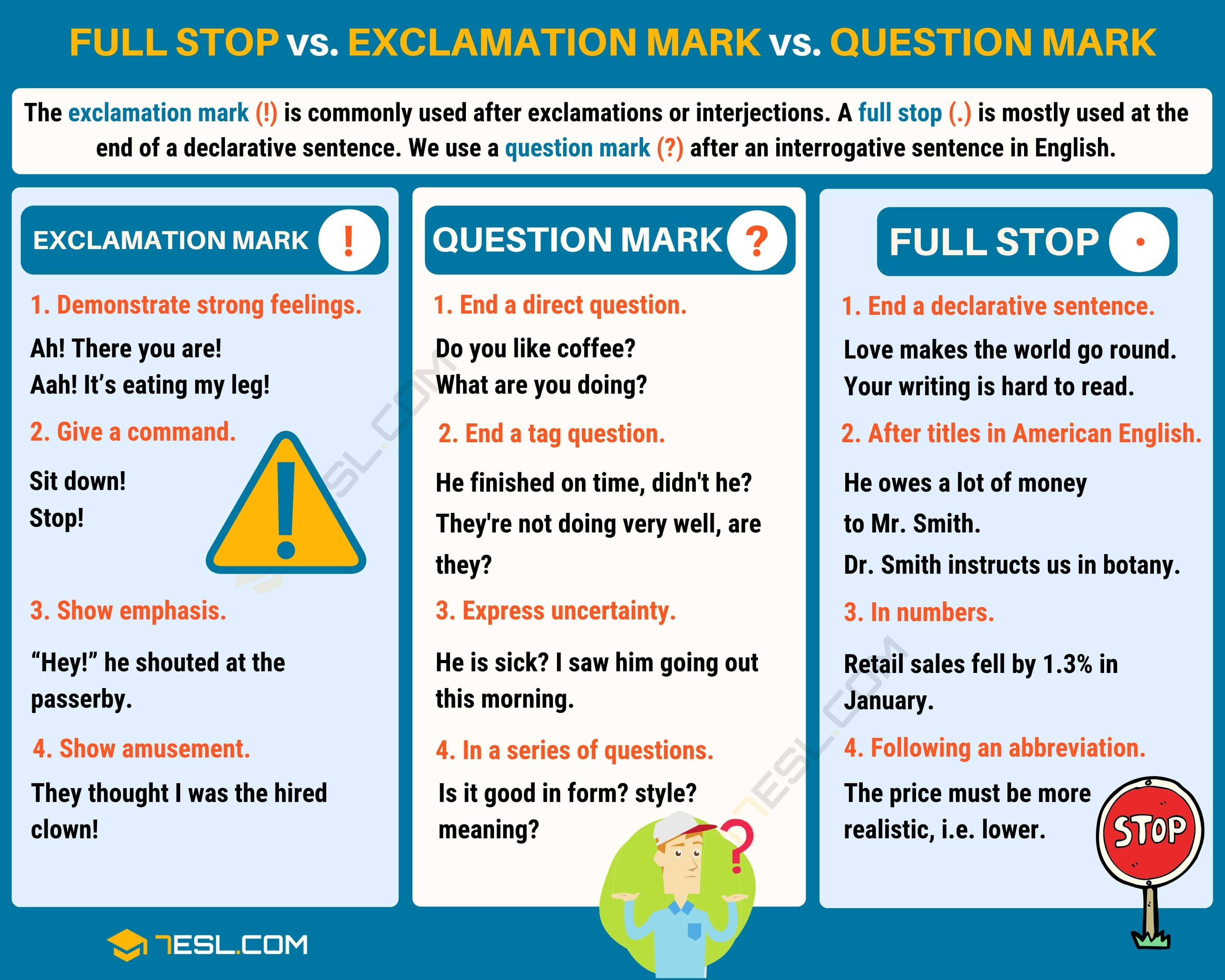 Exclamation Mark Exclamation Point With Useful Examples