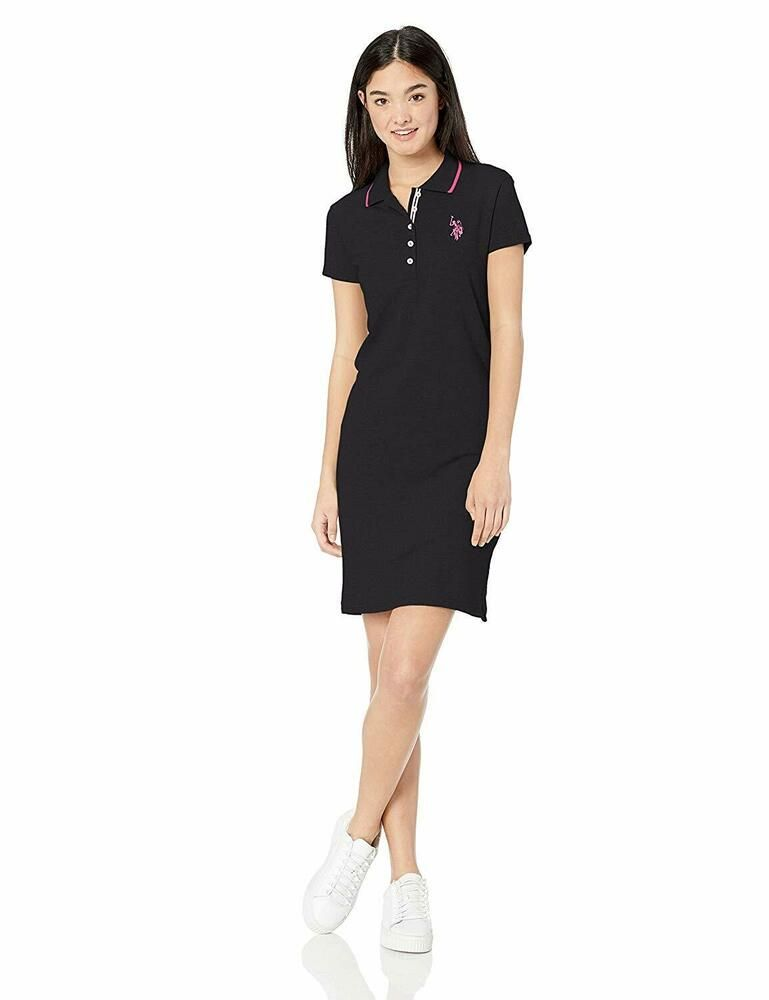 clients first exclusive range super cheap U.S. Polo Assn. Women's Classic Solid Polo Dress #fashion ...