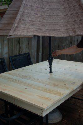 Diyp Recreating A Patio Table Diy Patio Table Patio Table Top