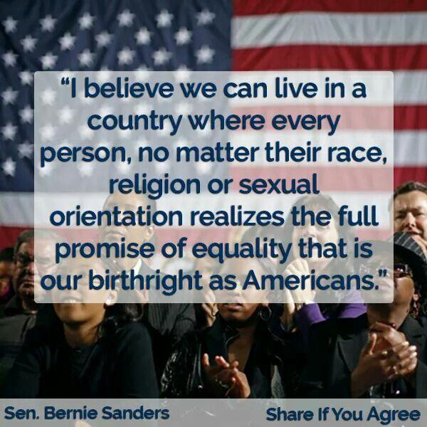 Bernie Sander's America