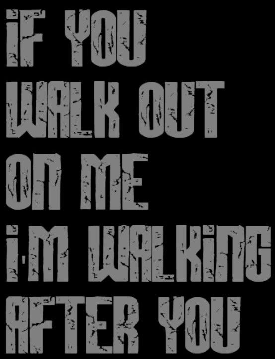 Foo Fighters Walking After You Song Lyrics Music Quotes Foo