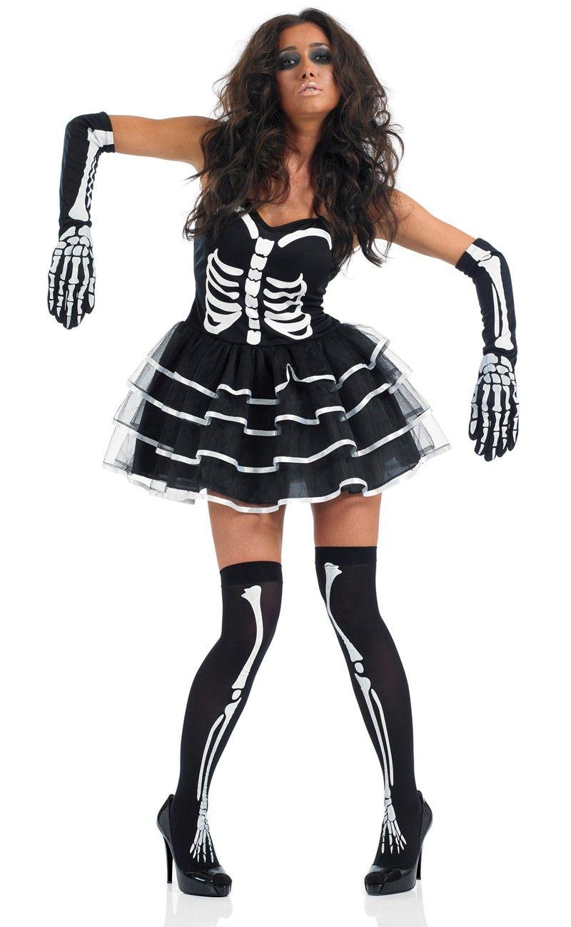 Skeleton Tutu Dress.