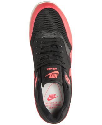 Nike Women s Air Max 1 Ultra 2.0 Running Sneakers from Finish Line - Black  9.5 c3af576ebe