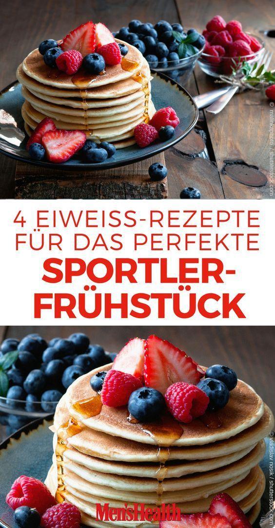 4 Eiweiß-Rezepte für dein Sportler-Frühstück