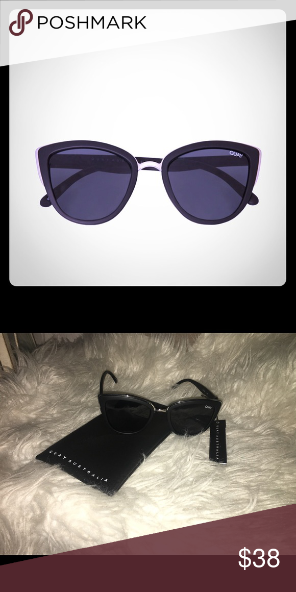 180b0b5feca7 Quay My Girl Sunglasses in Black Smoke Don t leave your house w o ...