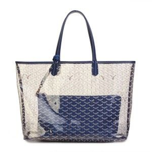 sac goyard st louis gy308 transparent bleu 1 marque goyard 2 style goyard st louis 3. Black Bedroom Furniture Sets. Home Design Ideas