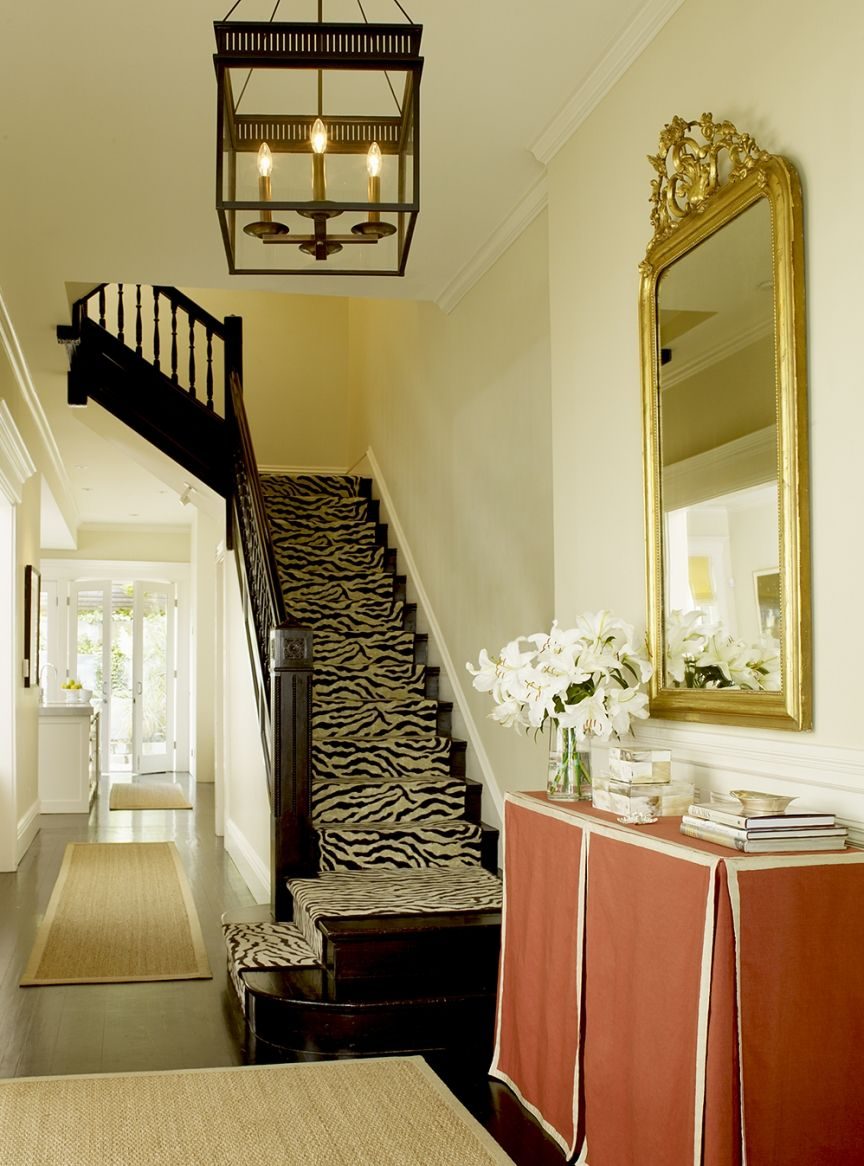 Hallway rug ideas  Palmer Weiss u Pacific Heights Traditional  LeaAmanda Luxe Home