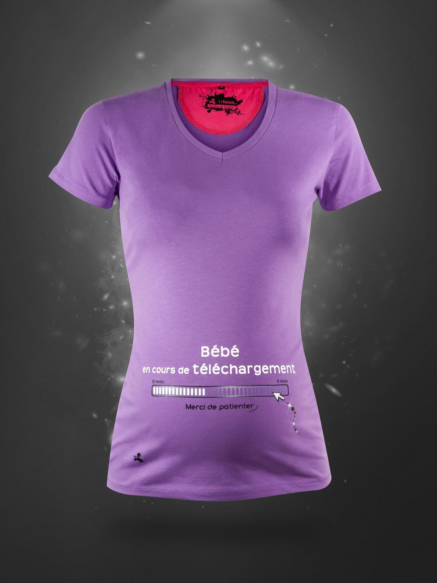 f95362f7010 Tee shirt grossesse - Bébé en téléchargement