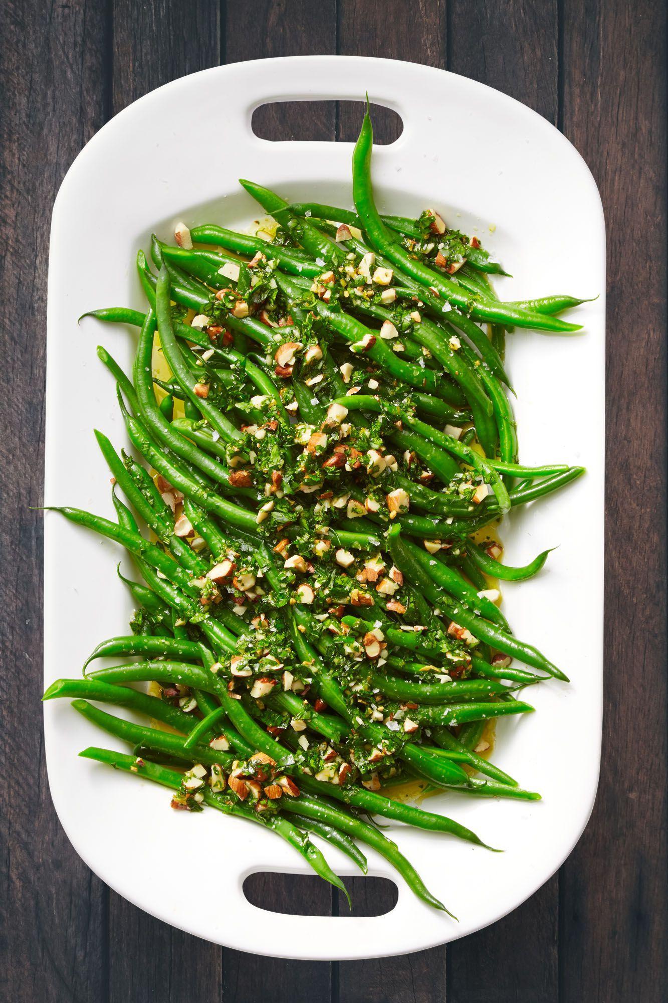 Green Beans With Orange And Almond Gremolata Recipe Green