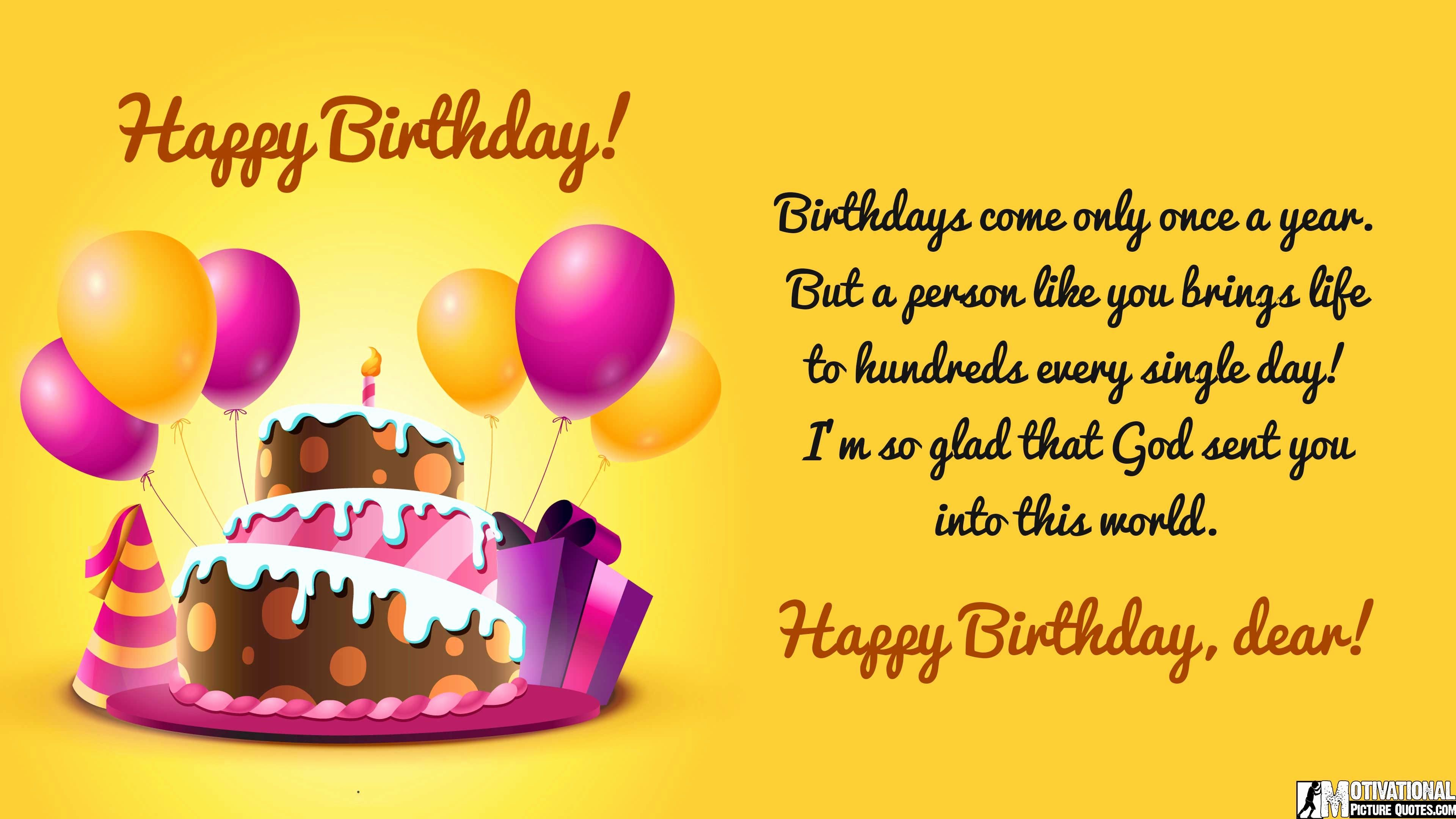 Happy Birthday Wishes Quotes Happy Birthday Wishes For Student  Happy Birthday Students And .