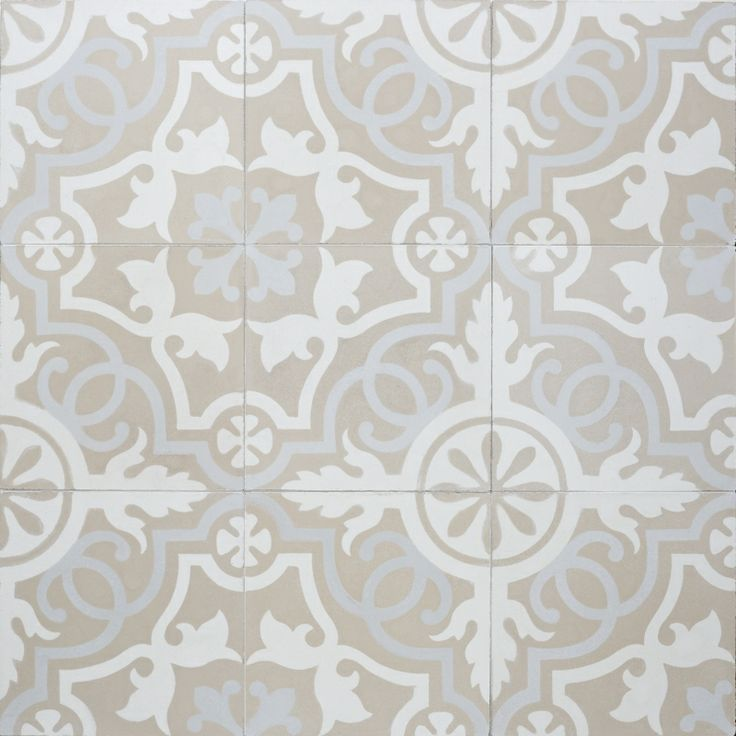 Sabine Hill Cement Tile Neutral At The Beach With Kris
