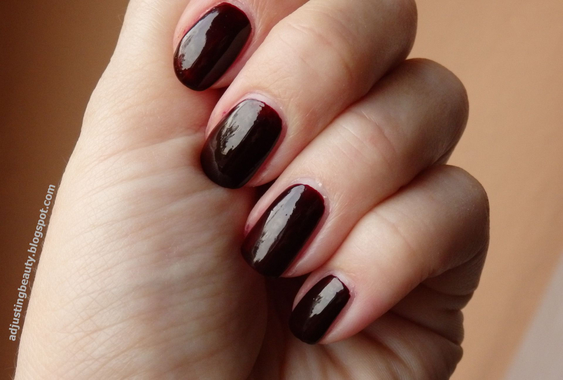Maybelline Colorama in shade 261 (burgundy, red wine, oxblood, dark ...