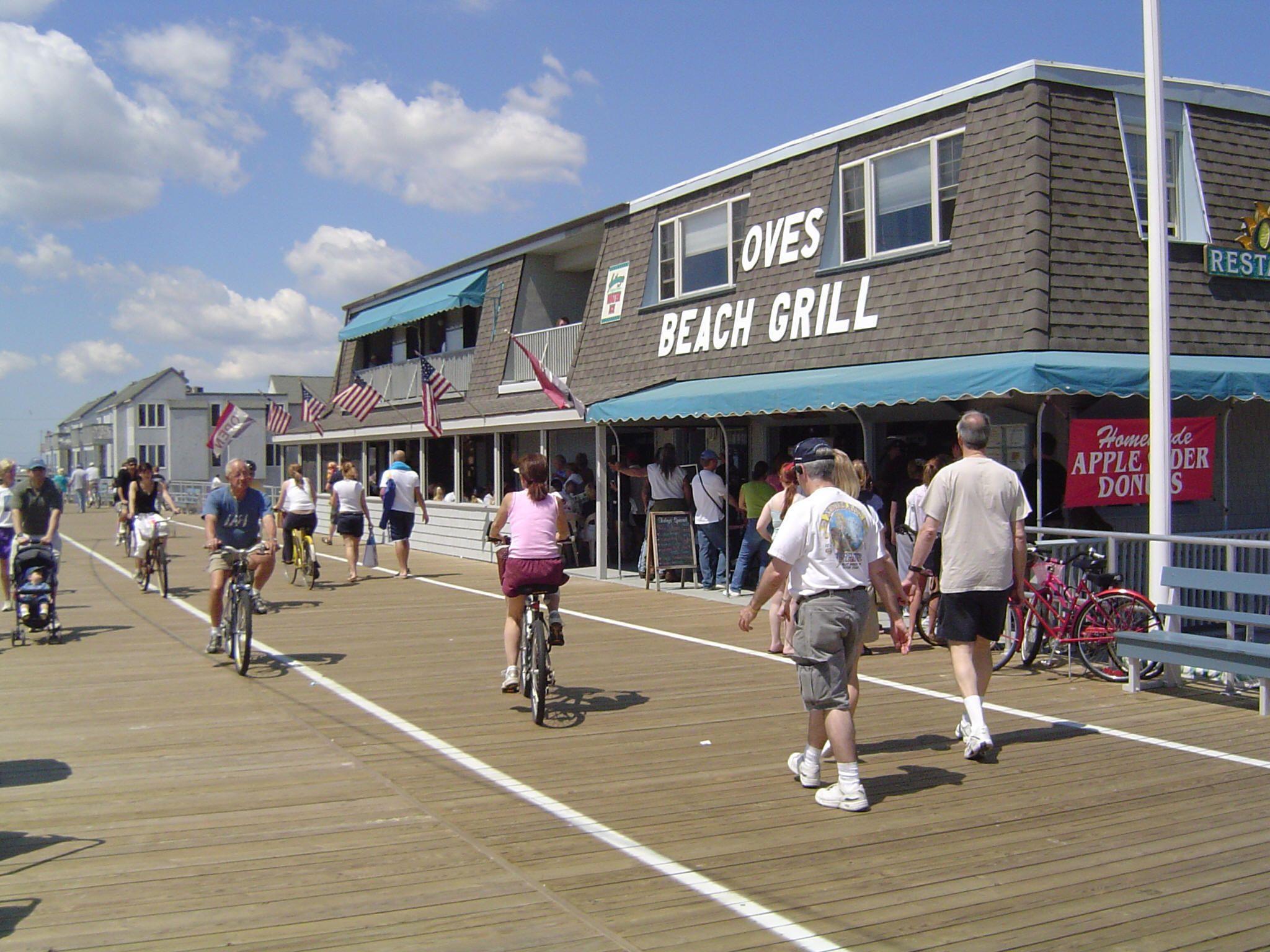 Ocean City Oves On The Boardwalk Stop In For Breakfast