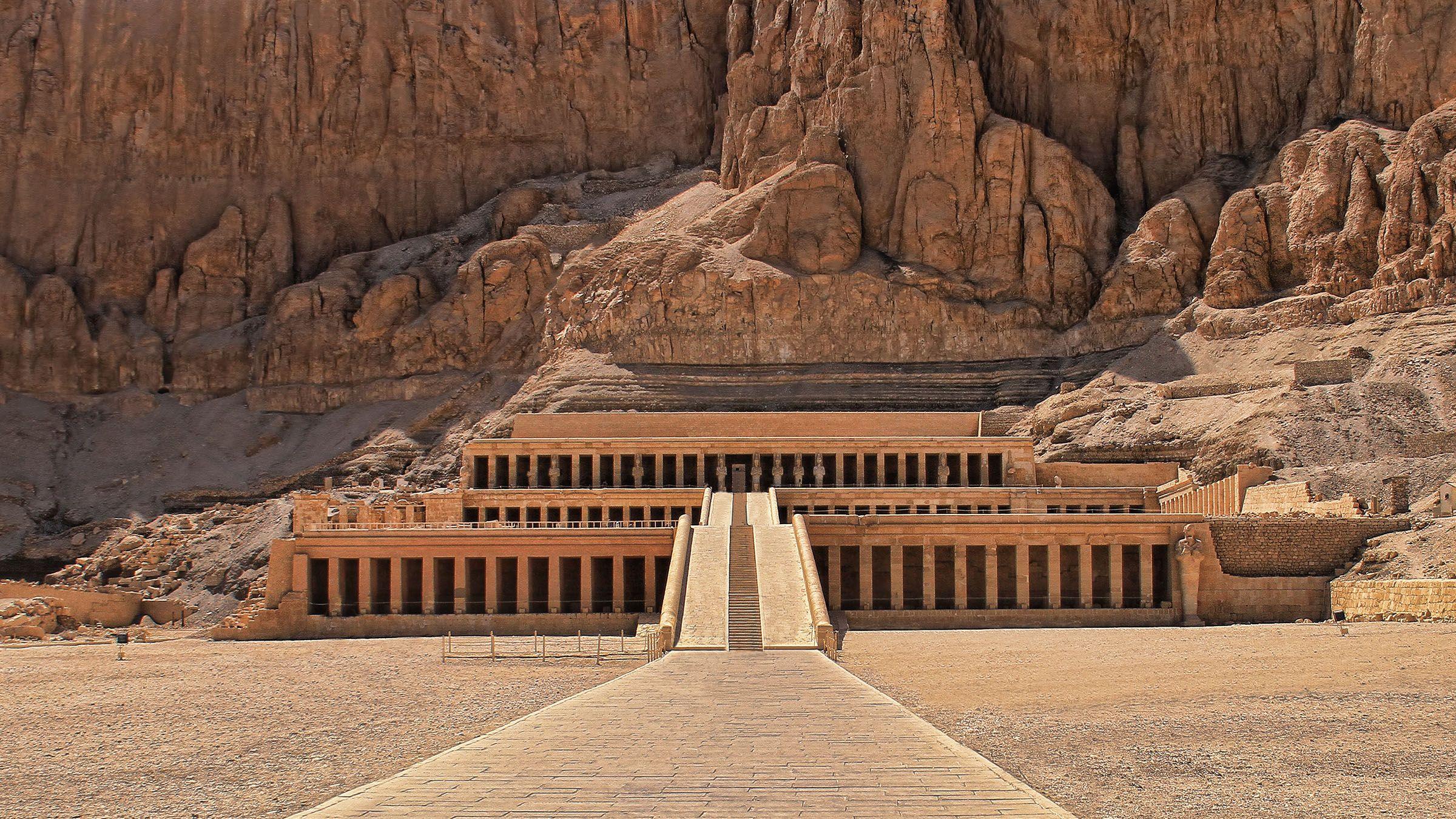 Templo de Hatshepsut, Deir el Bahari, Egipto | Egipto, Piramides de egipto,  Egipto antiguo