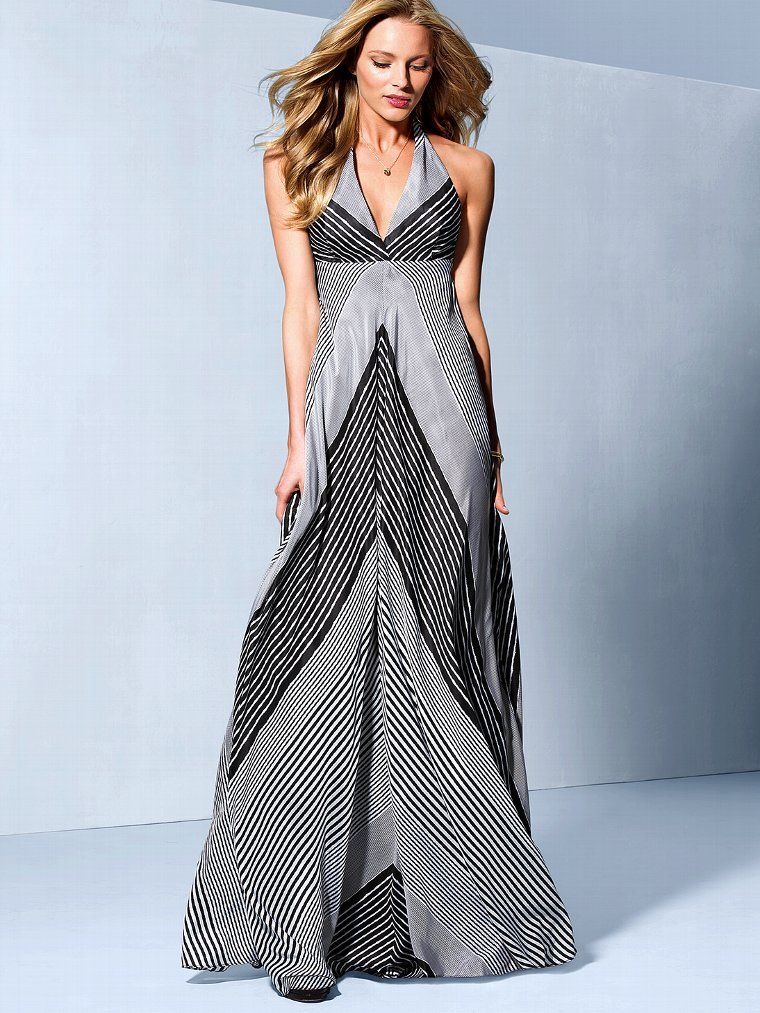 8d21aac84ce Stripe Maxi Dress - Victorias Secret