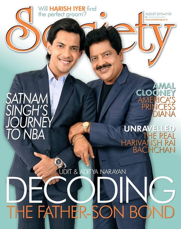 Udit and Aditya Narayan Aug 2015 Celebrities, Lifestyle