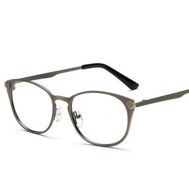 7990ed9e9c0 Fashion Blue Light Glasses Retro Metal Frame Anti Blue Ray Computer Glasses  Vintage Designer Cat Eye