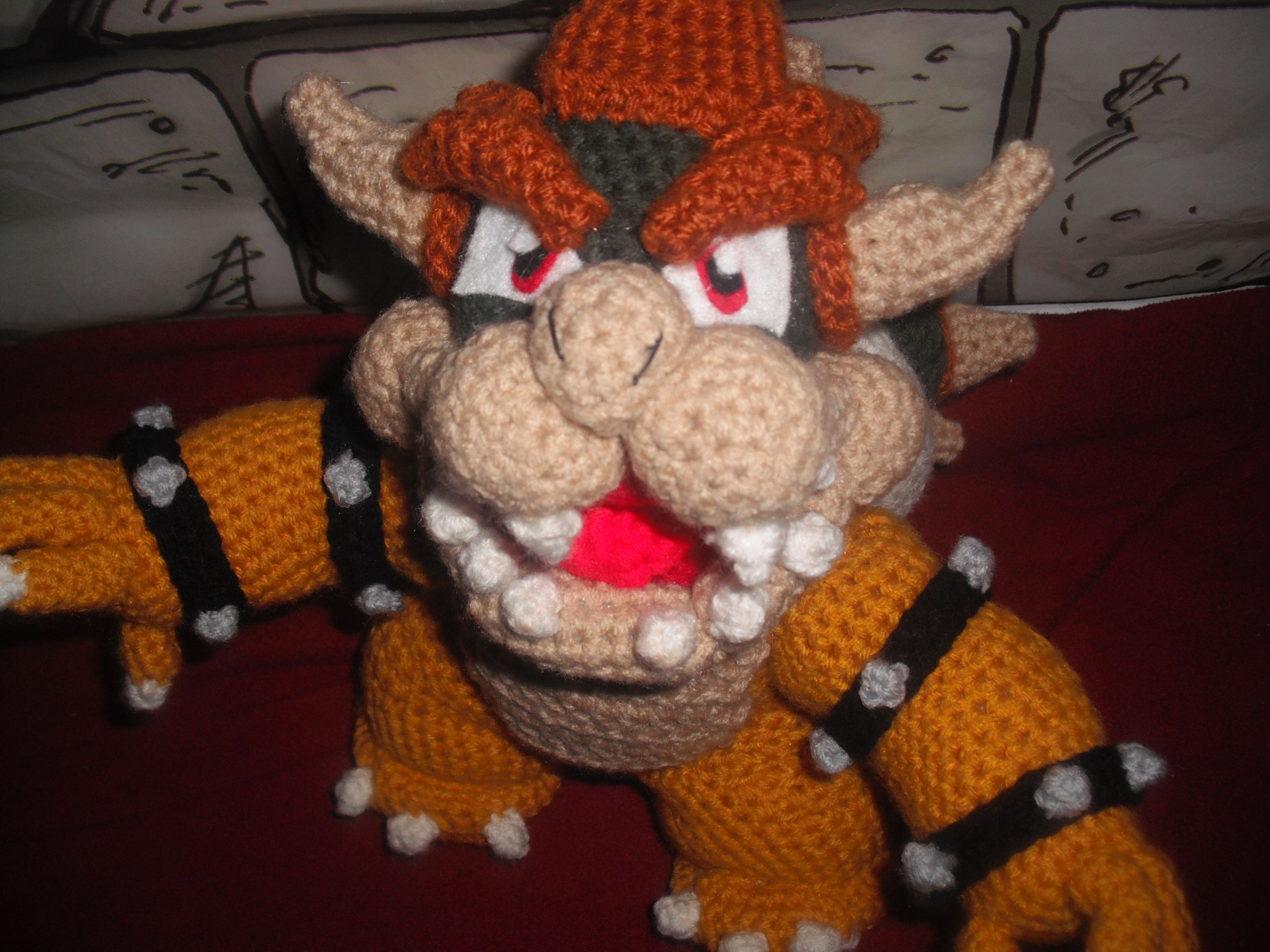 Bowser bowser amigurumi and crochet bowser dt1010fo