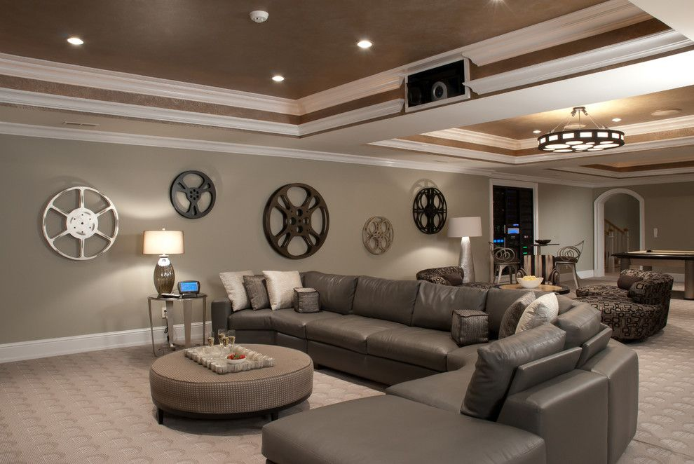 Glorious movie wall decorations decorating ideas gallery - Family room wall decor ideas ...