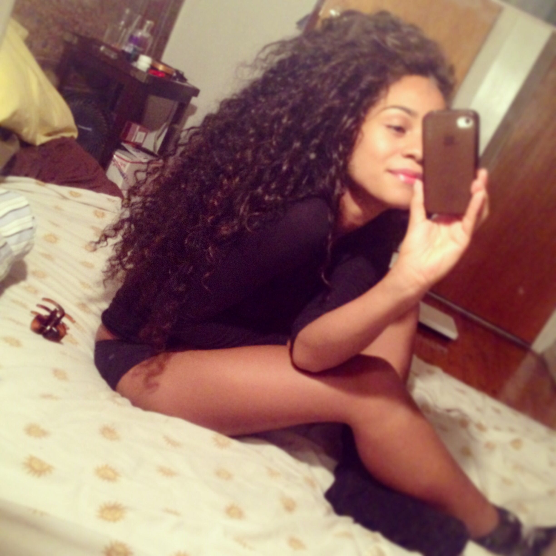 Long Natural Curls <3