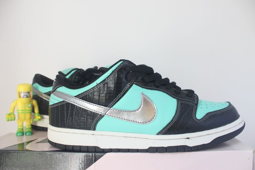 eBay  Sponsored Nike SB Tiffany Low SZ 10.5 tiff diamond supply co low pro  dunk 304292-402 2cdca5685ee2
