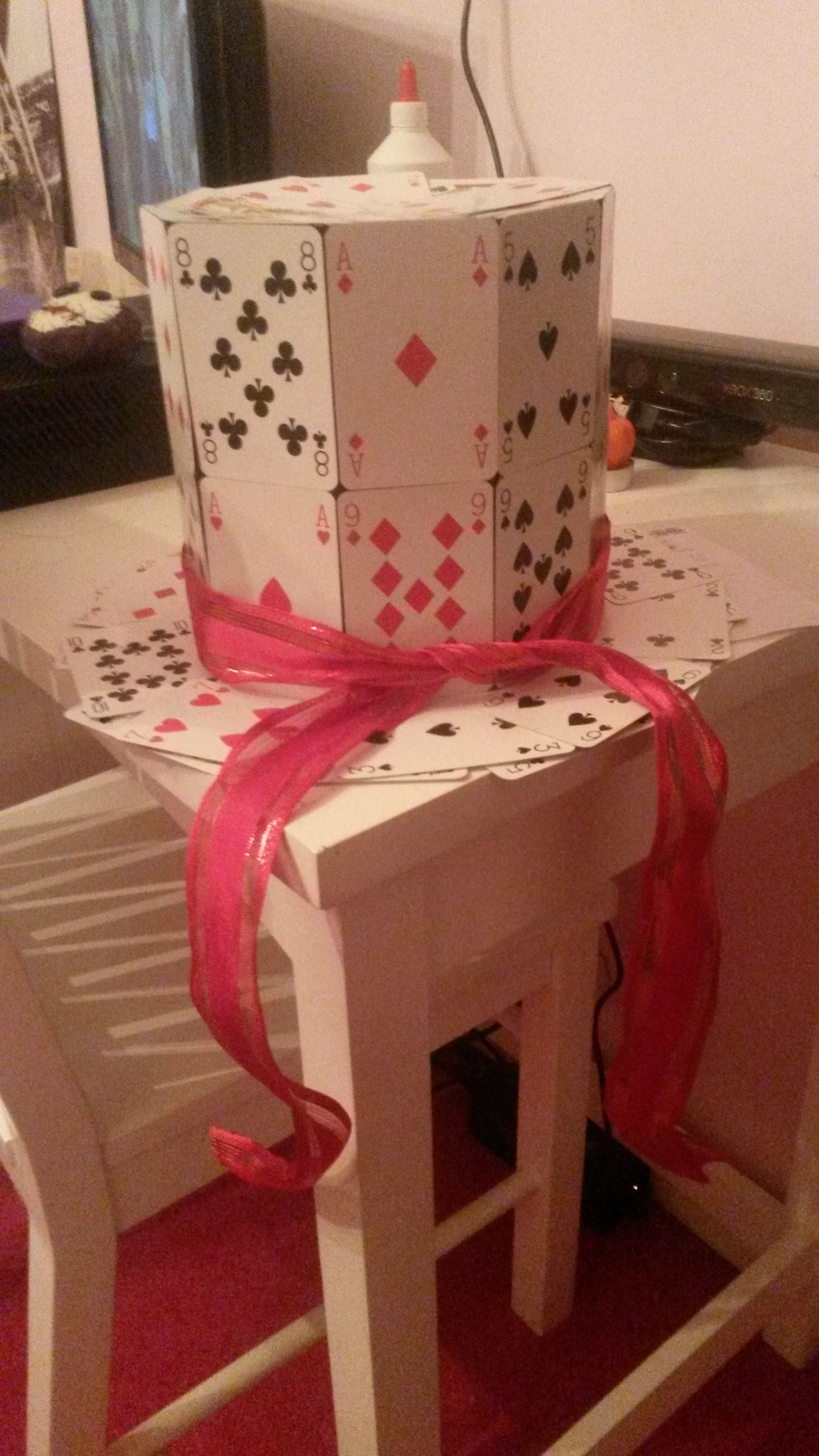 Playing Card Hat How To!