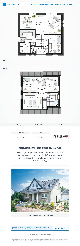 ProFamily 134 von ProHaus GmbH | Musterhaus ...