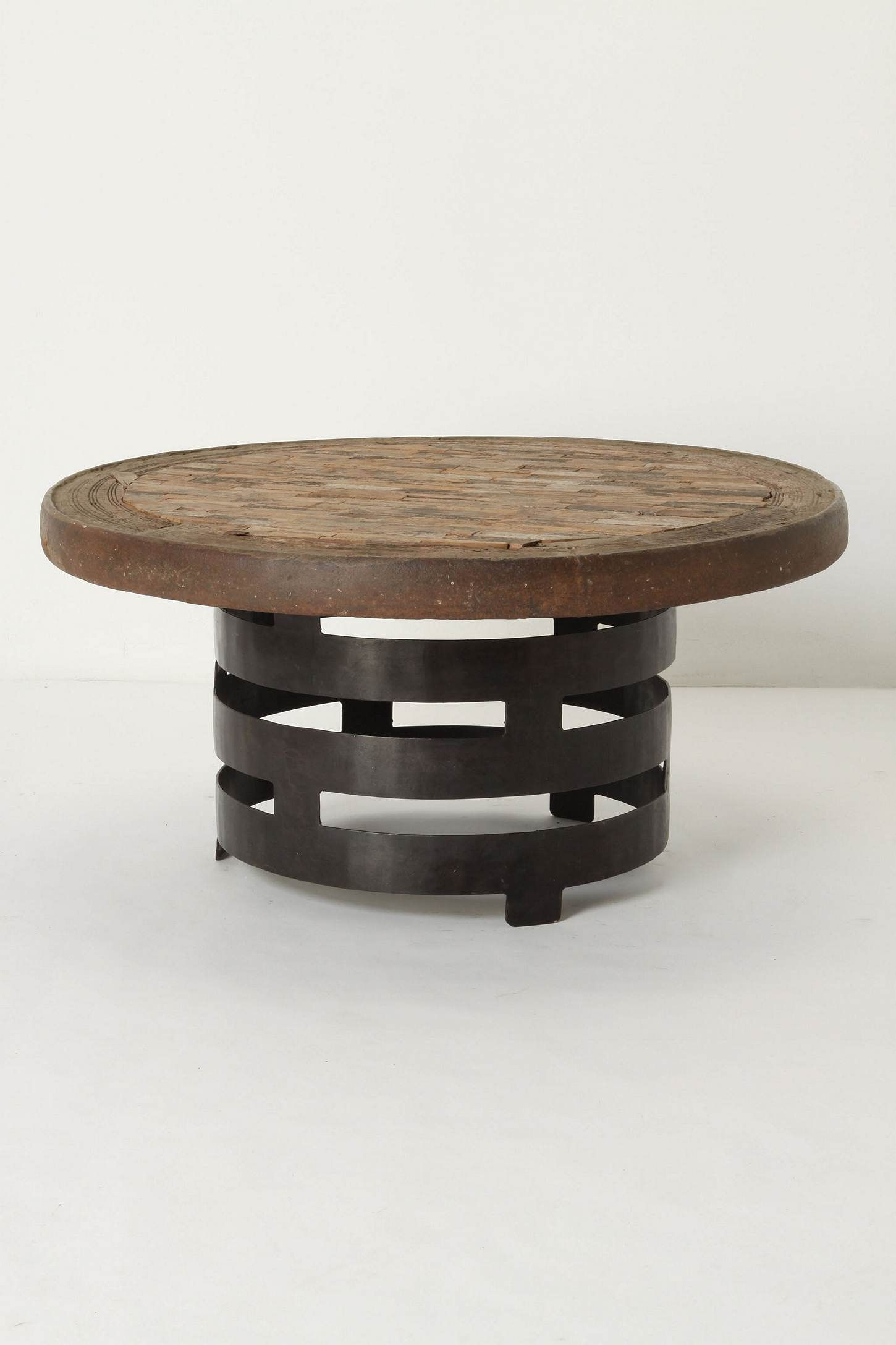 rotunda coffee table iron coffee table modern coffee on stunning wooden metal coffee table id=30626