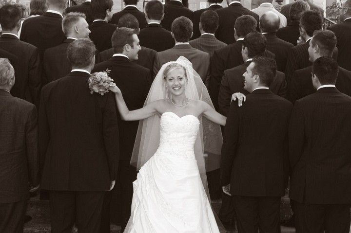 photos,mariage,noir,et,blanc _16 , Photo de groupe